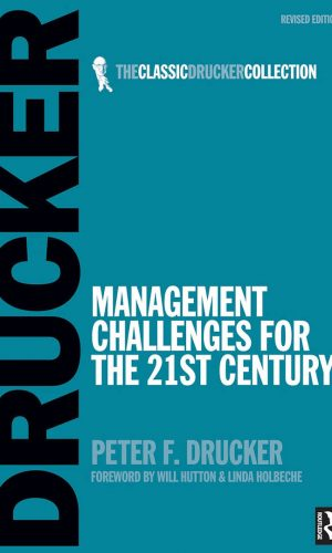 Book cover Management Challenges for the 21st Century Peter Drucker 1999